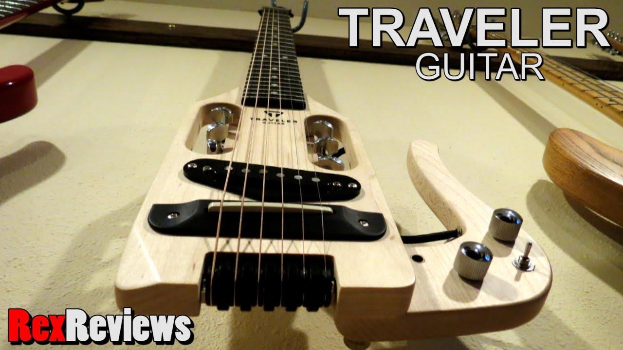 Traveler Guitar Pro-series Hybrid Acoustic/Electric ~ Rex Reviews