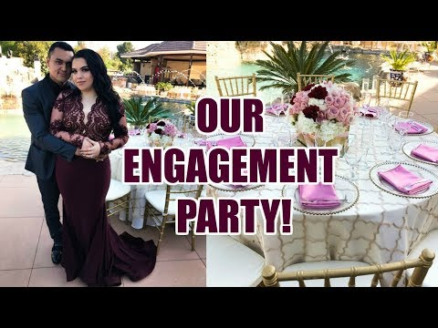 OUR ENGAGEMENT PARTY!