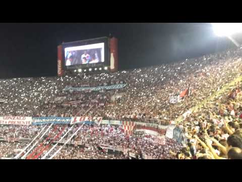 Video - River Plate vs. Cruzeiro - Copa Libertadores 2015 - Recibimiento - Los Borrachos del Tablón - River Plate - Argentina - América del Sur