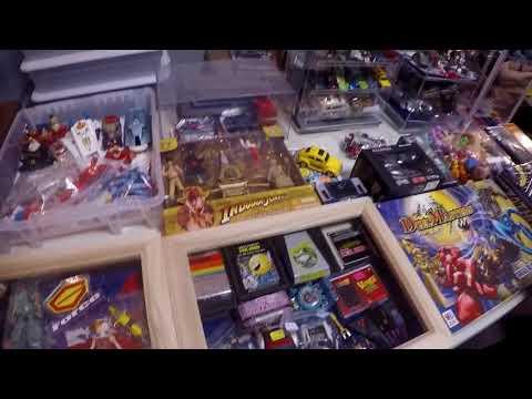Live Retro Toy Hunting Episode #8 Franklin toy show Gi Joe  & Transformers.....
