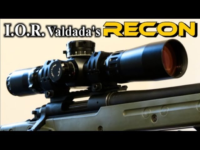 I.O.R. Valdada 4-28x50 40mm RECON Rifle Scope - Rex Reviews