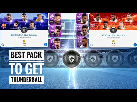 Barcelona And Arsenal Club Selection Pack Opening||PES 2019 Mobile||
