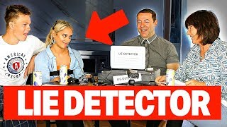 MY GIRLFRIEND INTERROGATED BY MOM - LIE DETECTOR TEST