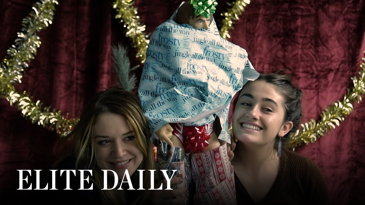 Friends Get Drunk And Try To Wrap Absurd Holiday Gifts