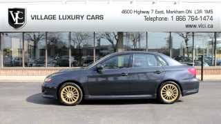 2008 Subaru Impreza WRX In Review - Village Luxury Cars Toronto