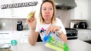 sometimes i wonder why i have friends....lol by Alisha Marie Vlogs