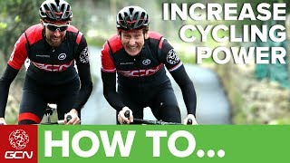 We all want to know how to improve our power output when riding. After all, who doesn't want to be faster? Ex professional rider...