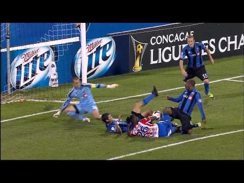 Montreal Impact vs Heredia Highlights