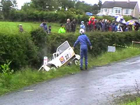 Escort MK2 crash