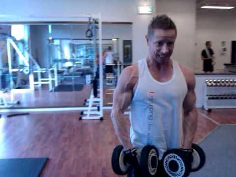 BESTRONG team atlet Thomas forberedelse til DM i fitness 2010
