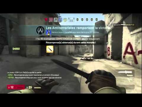 Vidéo : Counter Strike : Global Offensive - Gameplay xbox 360 Dust 2