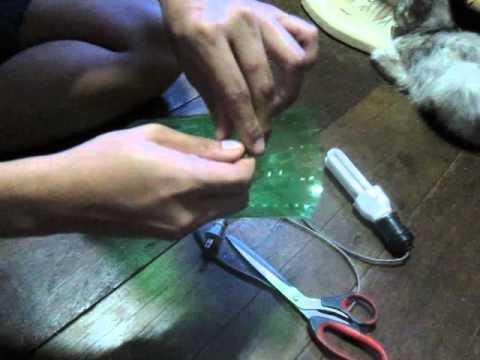 My show 5310500651 การทำโคมไฟแบบง่ายๆจากขวดสไปรท์เหลือใช้