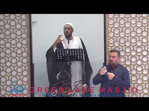 Being a Real Man (with Sign Language) - Shaykh Yahya Ibrahim