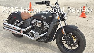 2. 2015 Indian Scout Motorcycle Review With Stage 1 Package