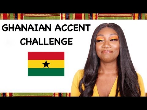 GHANAIAN ACCENT CHALLENGE : SPEAKING TWI AND EWE