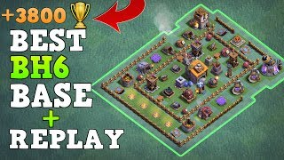 Clash of Clans Best Builder's Hall 6 Bases (BH6 Base) Anti 3 Star / Anti 2 Star Base Layout [Town Hall 6 (TH6) ] / Trophy Push Base / Trool Bases / shown Defensive Replay / Max Base / New Update 2017 Clash of Clans Builder Base Layout / Night Village. This Base created after the Update of Roaster and Night Witch. Bases done after CoC Versus Battle Update with New Troops and Buildings like Crusher, Multi Mortar, Push Trap, Cannon Cart, Bomber, Battle Machine aka New Hero, Gem Mine, Clock Tower, NEW ROASTER etc.This is the Strongest BH6 Builder Base 6 2017, one of the top player was using this base. By using this base design your base will never get 3 star this is also an Trophy Pushing Base for Builder Base 6. Trophy over 3800+.Replay shown in video is Battle with all troops, including Raged Barbarian, Sneaky Archer, Boxer Giant, Bomber, Dragon, NIGHT WITCH UPDATEIf you guys want 3 Star Attack Strategy for BH6 then let me know in comment box below. And Above basee doesn't have ------------------------------------------------------➜ Bringing to you: Clash of Clans [CoC]  Attack Strategies and Raids  War Base layout  Farm Base layout  For Town Hall - TH7 TH8 TH9TH10 AND TH11  For Builder Hall –  BH3 BH4 BH5 BH6 BH7 BH8------------------- Thank You for Watching! ------------------➜ Please Like ,Share And Subscribe!!➜ Share: https://youtu.be/wsDwjqYpCEk➜ Subscribe: https://goo.gl/AWuJLF ----------------------------------------­­­---------------------------------➜CLASH OF CLANS BH6 ANTI 3 STAR / HALL LEVEL 6 (COC BH 6)https://youtu.be/eWhONcOXeWY ----------------------------------------­­­---------------------------------➜ How to 3 Star Popular Builder Base 5 [BH5]https://youtu.be/X1P3NHJu_u0----------------------------------------­­­---------------------------------➜ How to 3 Star Popular Builder Base 4 [BH4]https://youtu.be/o-e-yIPfG1U----------------------------------------­­­---------------------------------➜ Builder Hall 5 Base [BH5 Builder Base] Clash of Clanshttps://goo.gl/ZyQgy6 ----------------------------------------­­­---------------------------------➜ Builder Hall 4 Base [BH4 Builder Base] Clash of Clans https://goo.gl/kTviSh ----------------------------------------­­­---------------------------------➜ Builder Hall 3 Base [BH3 Builder Base] Clash of Clans https://goo.gl/NslbTB ----------------------------------------­­­---------------------------------➜ Town Hall 9 [TH9] Attack Strategy 2017 Clan Wars https://goo.gl/1KiO1Q ----------------------------------------­­­---------------------------------➜ Town Hall 9 [TH10] Attack Strategy 2017 Clan Wars https://goo.gl/fMPhNV ----------------------------------------­­­---------------------------------➜Town Hall 11 [TH11] Attack Strategy 2017 Clan Wars https://goo.gl/FB9Rbm ----------------------------------------­­­---------------------------------➜Clash of ClansClash of Clans is an online multiplayer game in which players build a community, train troops, and attack other players to earn gold and elixir, and Dark Elixir, which can be used to build defenses that protect the player from other players' attacks, and to train and upgrade troops. The game also features a pseudo-single player campaign in which the player must attack a series of fortified goblin villagesNew Features:● Journey to the Builder Base and discover new buildings and characters in a new mysterious world.● Battle with all new troops, including Raged Barbarian, Sneaky Archer, Boxer Giant, Bomber, Cannon Cart, and the new Hero Battle Machine.● Go head to head with other players in the new Versus battle mode.Category: GameInitial release date: August 2, 2012Mode: Massively multiplayer online gameGenre: Strategy Video Game.Platforms: Android, iOS.Publisher: SupercellDeveloper: Supercell----------------------------------------­­­---------------------------------➜Music:----------------------------------------­­­---------------------------------Finite Gamer