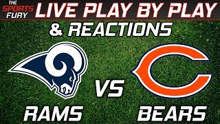 Rams vs Bears | Live Play-By-Play & Reactions