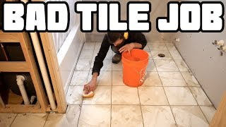 Tile Job Didn't Come Out as Hoped   Home Renovation #57