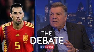 Does Allardyce really think Busquets is 'no better than Dier'?   The Debate