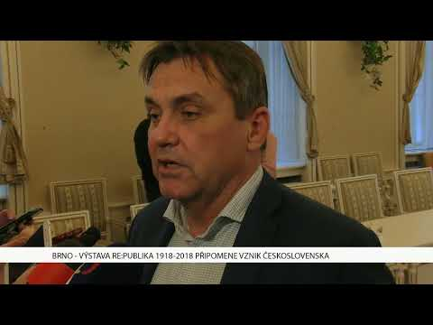 TV Brno 1: 20.12.2017 Výstava Re:publika 1918-2018 připomene vznik Československa