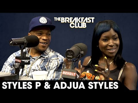 Styles P And Adjua Styles Open Up About Their Daughter's Suicide, Talk Health, Hip-Hop & More W/ The Breakfast Club