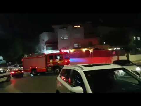 Rockets fired towards southern Israel (Video: MDA)