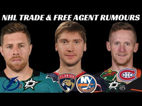 NHL Trade amp Free Agent Rumours - Bobrovsky, Perry, Simmonds, Pavelski  More