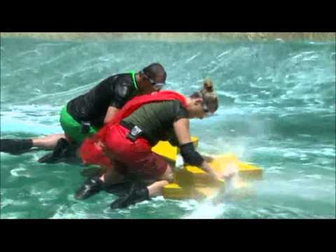 Celebrity Cyclone Bush Tucker Trial on I'm a Celebrity Get Me Out of Here 2012