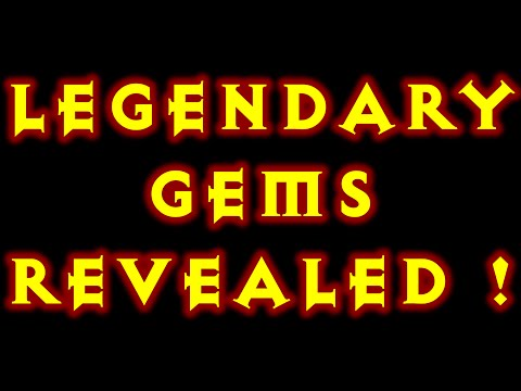 Diablo 3 Legendary Gems Revealed! PTR 2.1