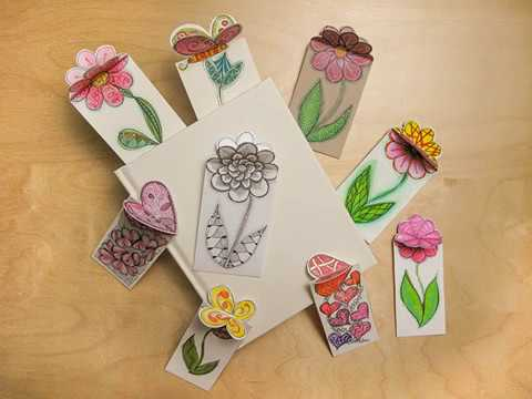 3D Zentangle® Bookmarks with CZT Dorian Eng