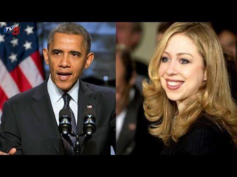 America President Obama Offer To Bill Clinton Daughter : TV5 News