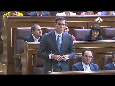 Sánchez, a Rajoy: Para el 10 por ciento los sacrificios y para el 90 por ciento los beneficios