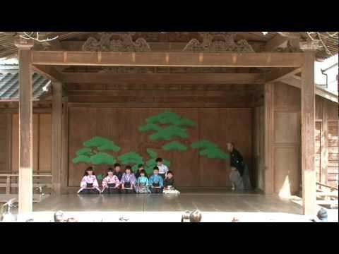 篠山子ども狂言 -伝統の舞台に挑む-