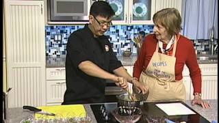 Recipes From The Chef's Kitchen 1 - Larb Kua Moo ลาบคั่วหมู