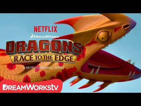 Dragons: Race to the Edge Season 4 (Clip 'New Dragon')