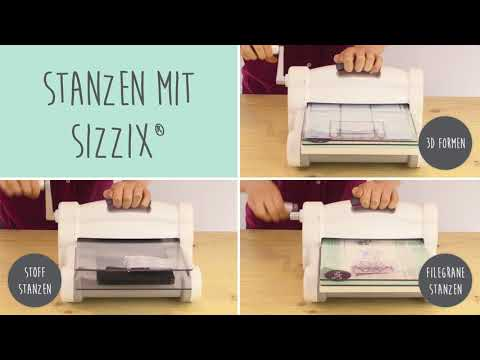 Das neue Big Shot Plus Starter Kit mit My Life Handmade - Sizzix