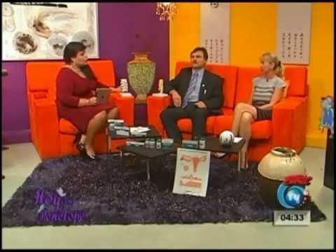 """MENOPAUSIA. Dra.OLGA SKVORTSOVA. Programa """"HOY CON PENELOPE"""" Canal TV42. Costa Rica"""