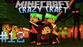 Minecraft: Crazy Craft Adventure! Episode 12 - First ULTIMATE SWORD!