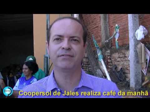 Jales - Coopersol de Jales realiza café da manhã e expõe parceiros e necessidades.