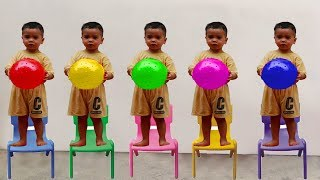 Mainan dan lagu anak anak l اللغة الانجليزية اغنية الحروف الانجليزية للاطفال العاب اطفال تعليمية #4