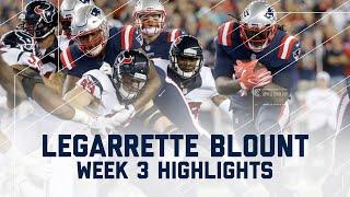 LeGarrette Blount Highlights (Week 3) | Texans vs. Patriots | NFL by NFL