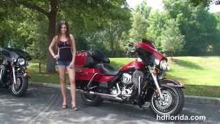 6. Used 2011 Harley Davidson Electra Glide Ultra Limited Motorcycles for sale - Port Richey, FL