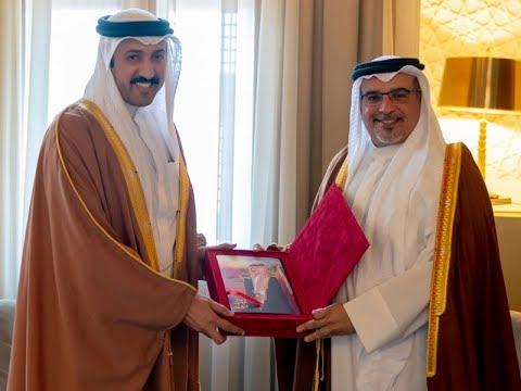 سمو ولي العهد يلتقي رئيس مجلس أمناء مركز البحرين للدراسات الاستراتيجية والدولية والطاقة (دراسات)