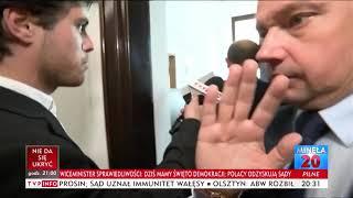 Grupiński mistrzowsko zaorał natarczywego dziennikarza TVP :D