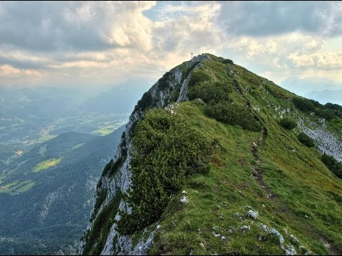 Breathtaking View High at The Mountaintop in Bulgaria