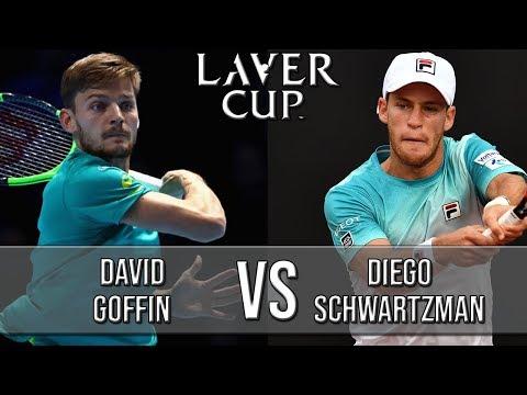 David Goffin Vs Diego Schwartzman - Laver Cup 2018 (Highlights HD)