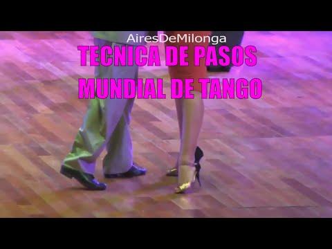 Tecnica de pasos, pista, mundial de tango, parte 6