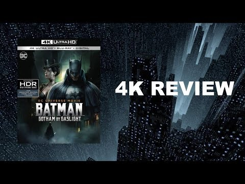 Batman: Gotham By Gaslight 4K Blu-ray Review | HDR | DTS-HD 5.1