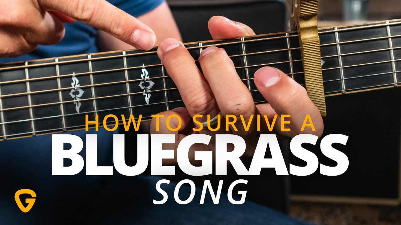 Your First Bluegrass Guitar Lesson
