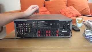 10. Yamaha RXV457 Surroundverstärker Review